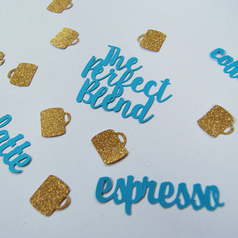 """The Perfect Blend"" Engagement Confetti"