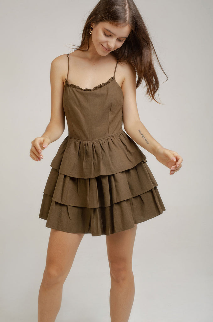 CARA MINI DRESS - Heron clothing brand bali