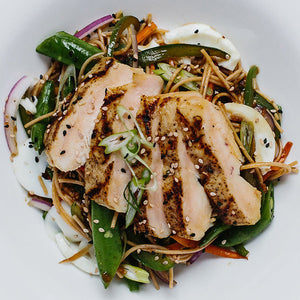 Ramen Style Sesame Grilled Chicken