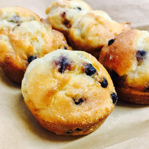 High Protein Blueberry Muffin
