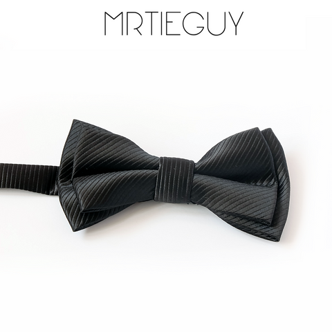 CLASSIC BLACK BOW - MR TIE GUY - For The Daring & Dapper™