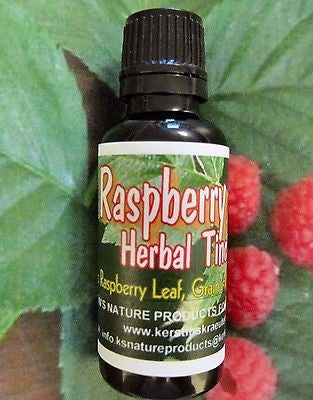 Red Raspberry Leaf Tincture Extract - Kerstin's Nature Products