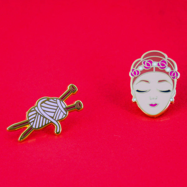 Sleeping Beauty Enamel Pin Duo: this set is a perfect ballet recital gift