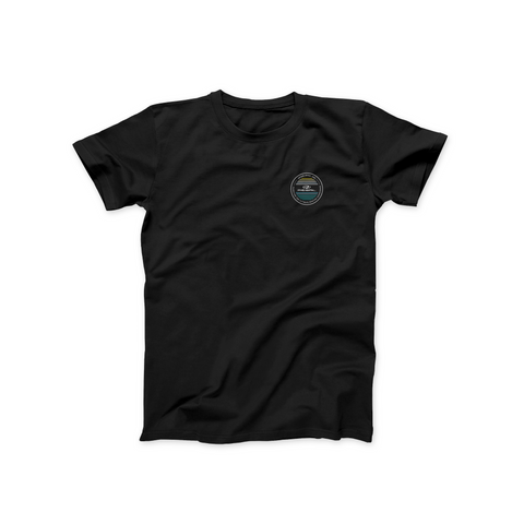 Regal Patch Tee - Black