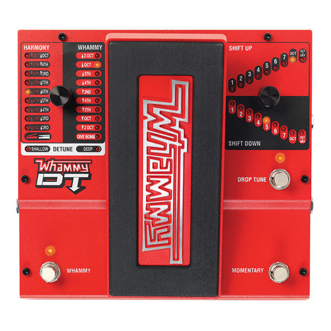 Digitech Whammy DT Pitch Shift Effect Pedal