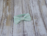 (55-132) Light Mint Green Bow Tie - Mr. Bow Tie
