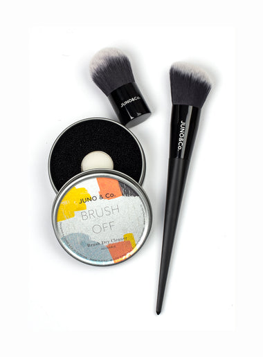 Dry Brush Cleaner, Kabuki Brush and Contour Brush