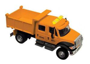 B #006 Yel  Boley Depart. 1-87 vehicles extra cab dump