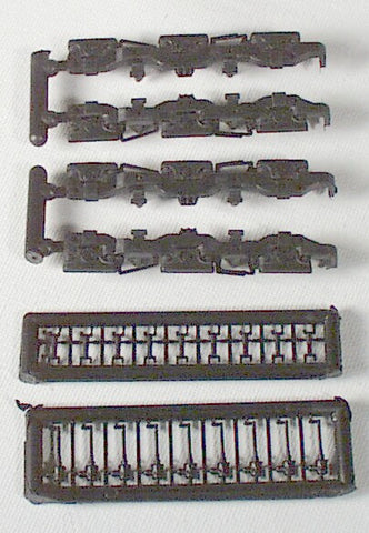 #R143 - 9-44CW Hi/Ad Sideframes (Set of 4) - Fits Athearn GE UC & EMD SD45 Type Trucks
