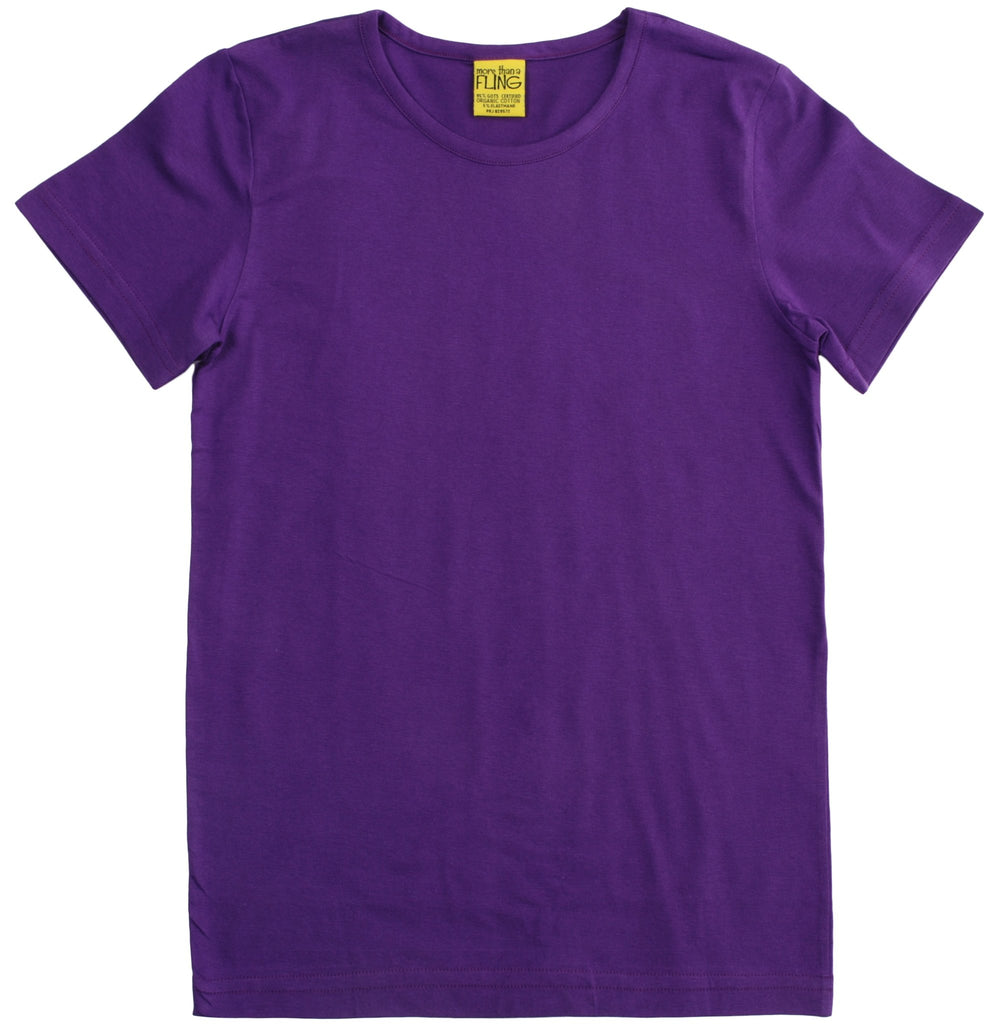 More Than A Fling T Shirt Purple - Shirt Paars