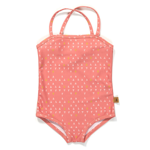 AlbaBaby Swimwear Grazia UV50+ Swim Suit Badpak Rose