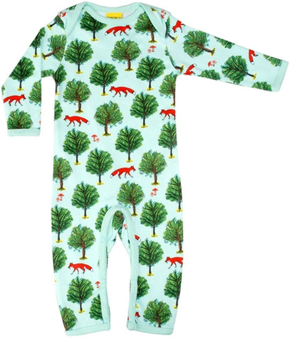 Duns Sweden - Jumpsuit Fox and Tree Jade