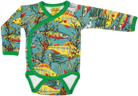Duns Sweden - Body Wrap Longsleeve Fish Teal