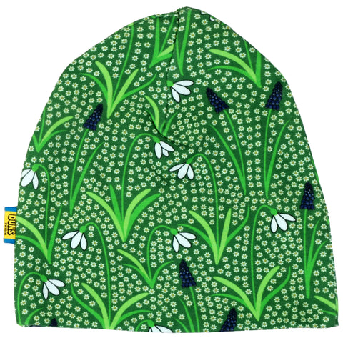 Duns Sweden - Beanie Double Layer Hat Snowdrop Green