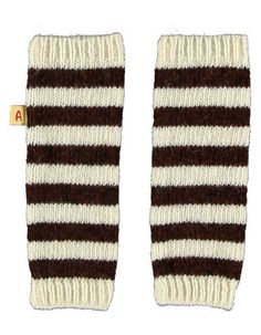 AlbaBaby - Anton Legwarmers Brown/White
