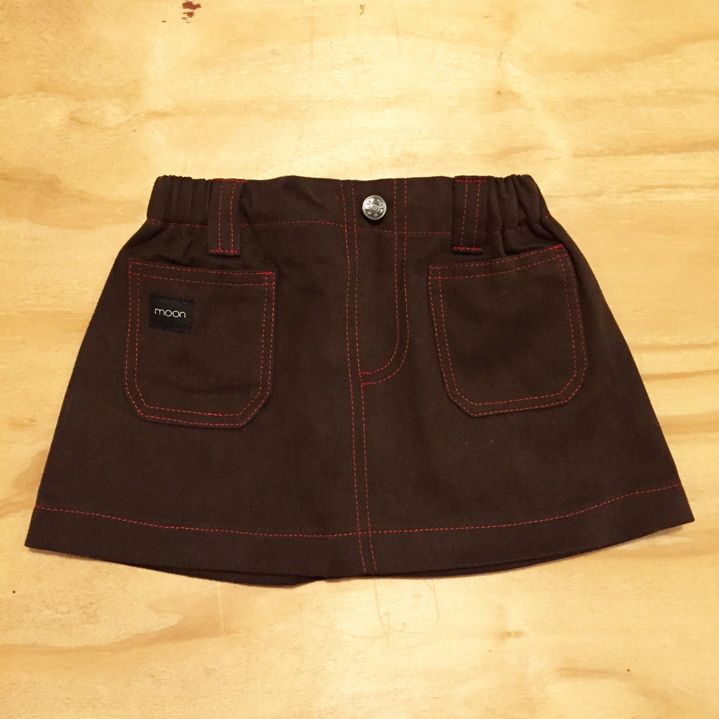 Moonkids Retro Skirt Brown
