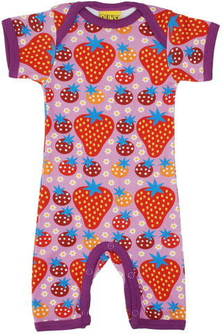 Duns Sweden - Summersuit Strawberry Field Light Purple