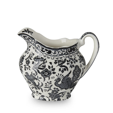 Black Regal Peacock Cream Jug 284ml/0.5pt