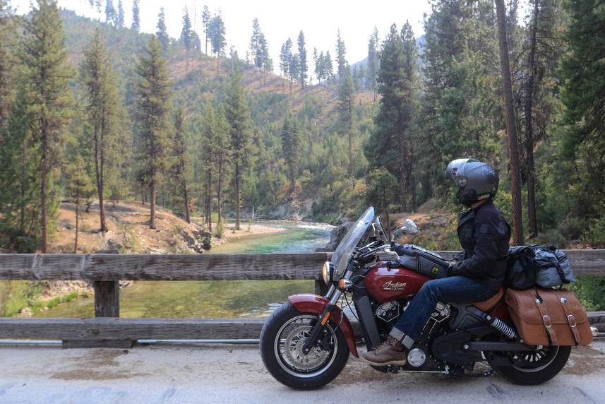 Best Motorcycle Roads in Idaho