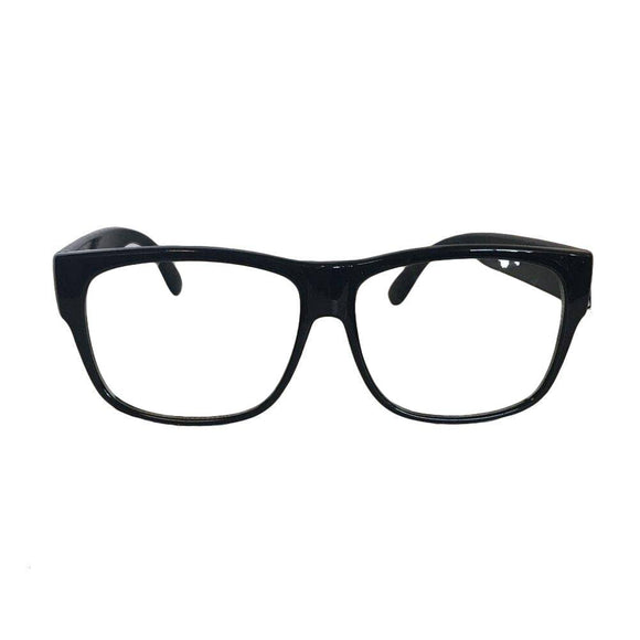 Jacobson Hat - Black Large Glasses