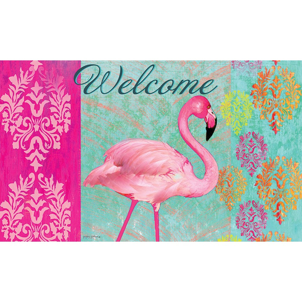 Flamingo Welcome Doormat