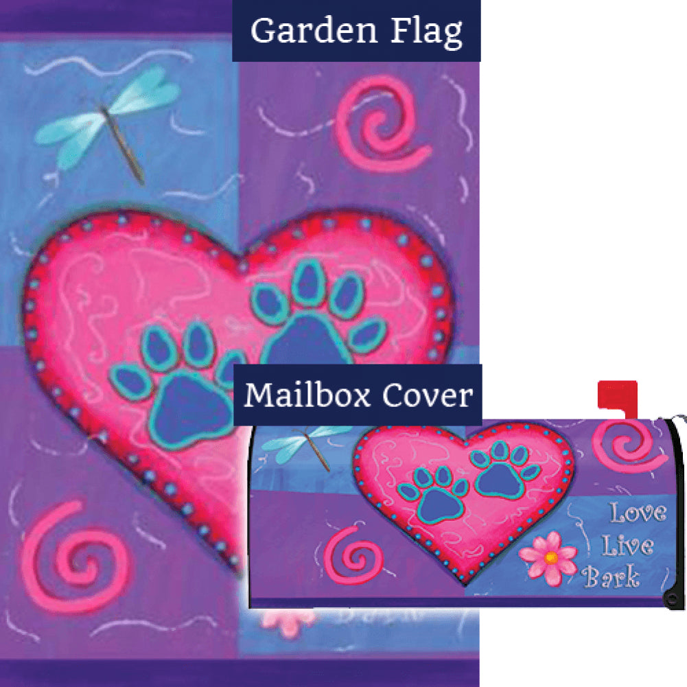 Love Live Bark Flag Mailwrap Set (2 Pieces)