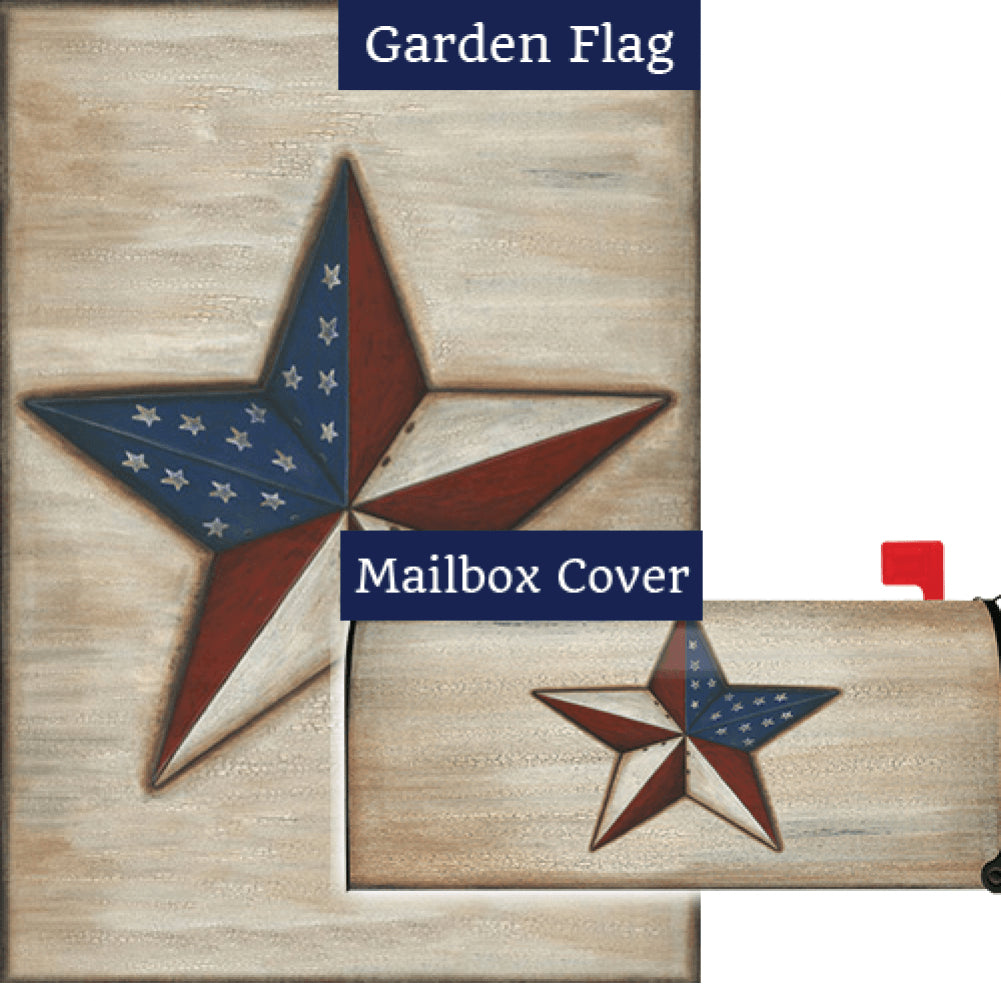 American Star Flag Mailwrap Set (2 Pieces)
