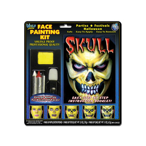 Wolfe Skull Face Painting Kit