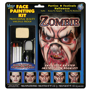 Wolfe Zombie Face Paint Kits