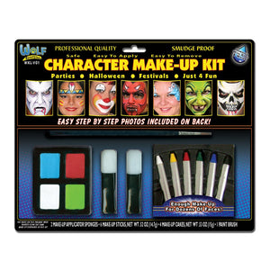 Wolfe Character Face Painting Kit
