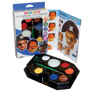 Snazaroo Face Painting Palette Kit - Boys (8 Colors)