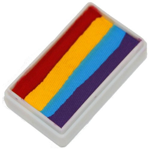 TAG 1 Stroke Split Cakes - 4 Color Rainbow (1.06 oz/30 gm)