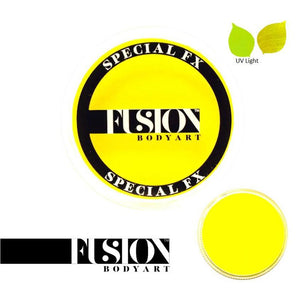 Fusion Body Art & FX - UV Neon Yellow (32 gm)