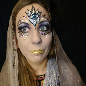 Gypsy Fortune Teller Makeup by Caroline Healy