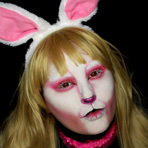 Easy Three Color White Rabbit Tutorial Video by Bengal Queen
