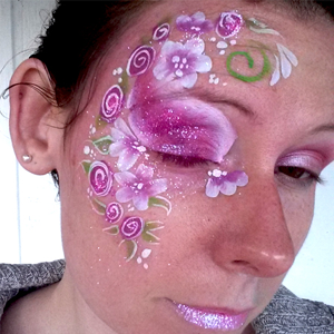 A Rosy Spring Eye Design  ~ Perfect for Valentine's Day