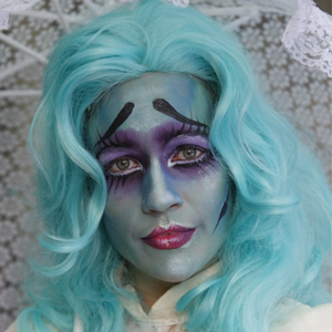 Corpse Bride Halloween Makeup Video Tutorial