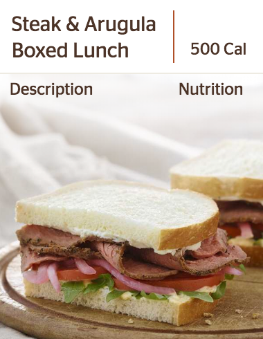 Panera's Steak & Arugula Sandwich
