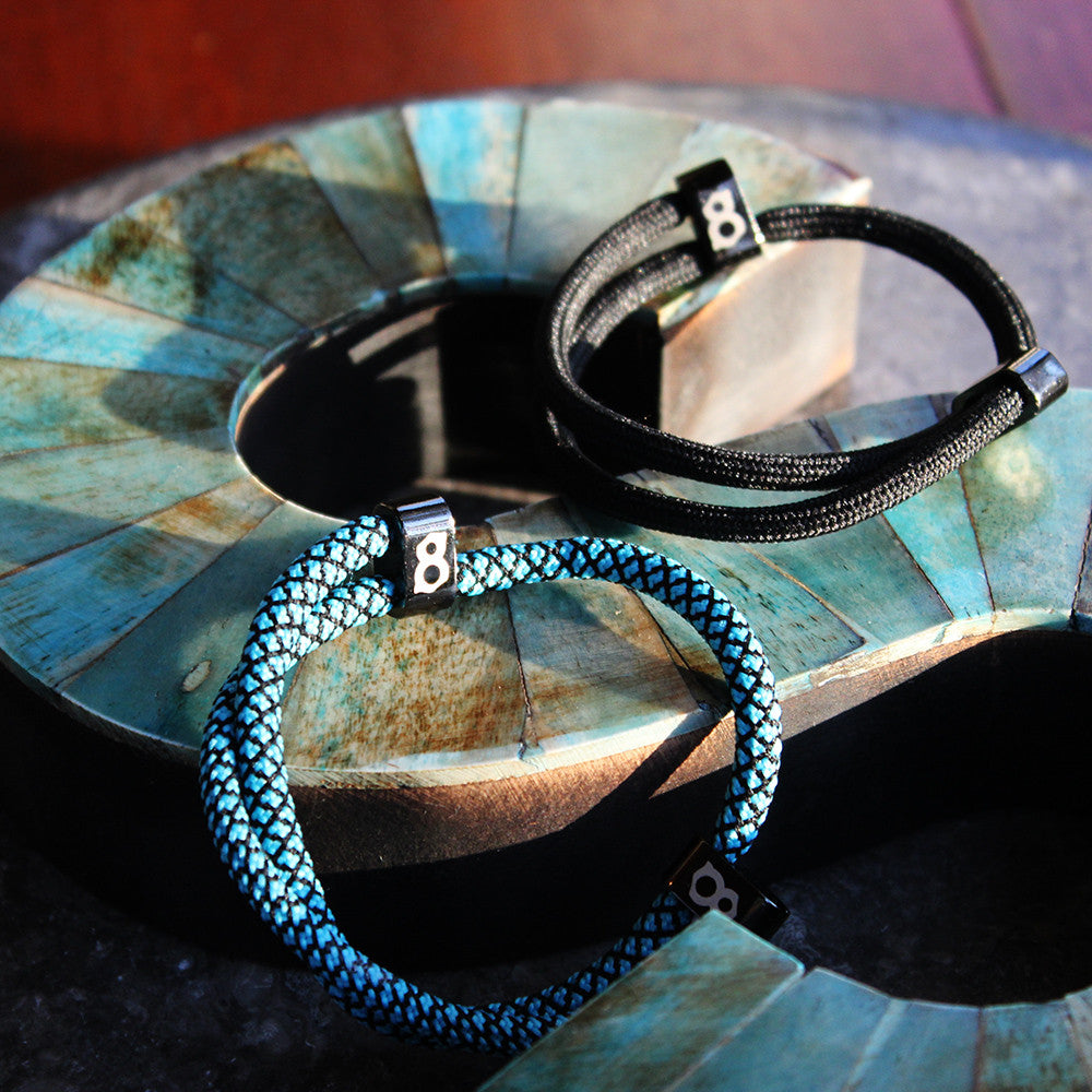 blue black (robin black) st8te bracelet