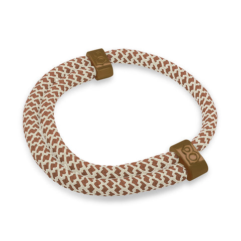 "st8te Handmade ""Java"" Brown Rope Bracelet 