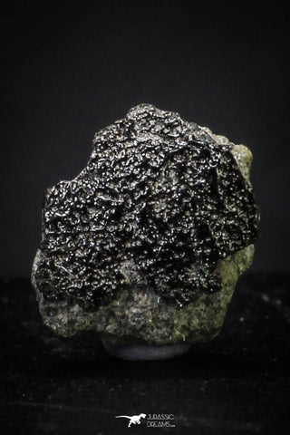 "21370 - Top Rare ""Tissint"" MARTIAN Shergottite Meteorite 0,078 g with Fusion Crust"