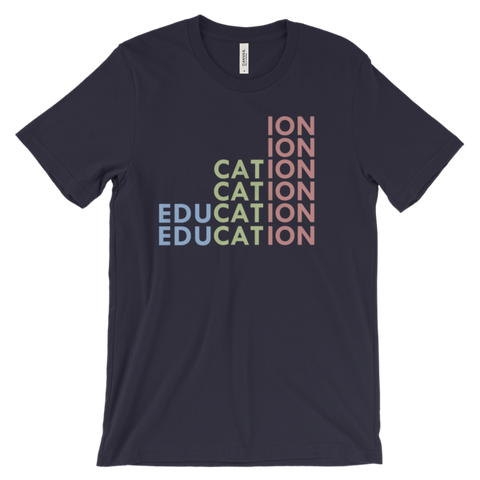 Education Rising Unisex t-shirt