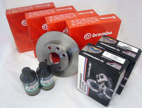 Performance Friction - Brake & Rotor Bundle
