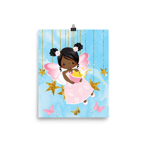 African American Fairy 1 Poster