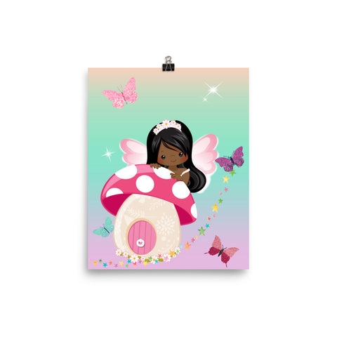 African American Fairy2 Poster