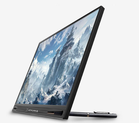 Lexuma portable monitor best portable screen 2019 slim monitor for gaming Type-c connection