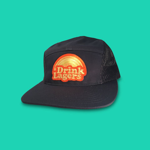 Drink Lagers, 5-panel Strapback Hat