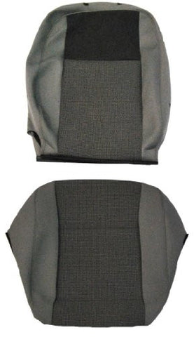 New Factory Original VW T5 Transporter Replacement Front Driver Single Seat Cover; 2010 Onwards; Timo & Titan Cloth
