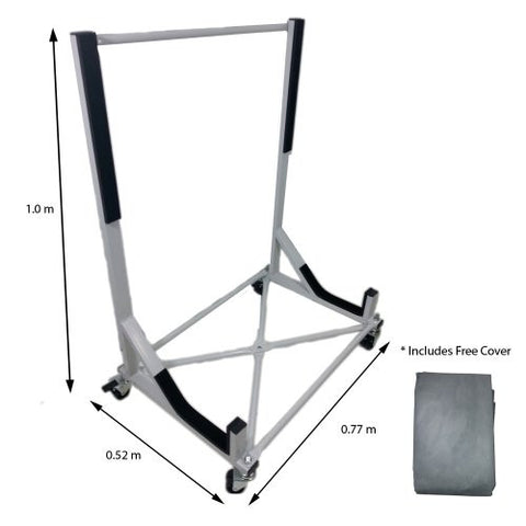 Convertible Hardtop Storage Steel Trolley Stand For Audi TT With Free Cover