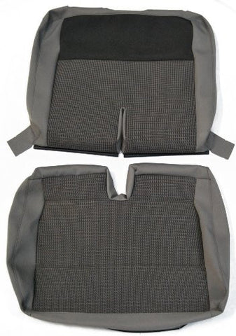 New Factory Original VW T5 Transporter Replacement Front Double Bench Seat Cover; 2010 Onwards; Timo & Titan Cloth